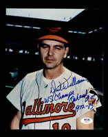 Dick Williams PSA DNA Coa Hand Signed 8x10 Photo Autograph