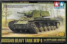 1/48 Tamiya 32545 - Russian KV-1B w/Applique Armor Plastic Model Kit