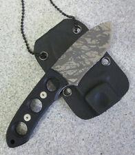 Neck Knife Security Agenten Halsmesser Fingermesser Neckknife Kydexscheide 8624