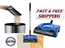 Swivel Floor Carpet Sweeper Lightweight Cordless Vacuum Cleaner Cleaning Cordles