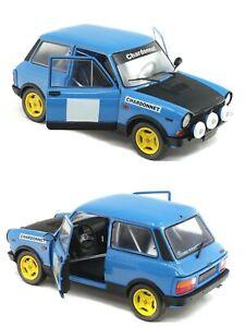 1/18 Solido Autobianchi A112 MK5 1980 Chardonnet Rally Neuf Livraison Domicile