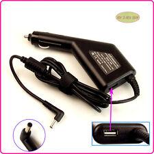 Laptop Car DC Adapter Charger & USB For ASUS ZenBook Prime UX301LA UX302LG