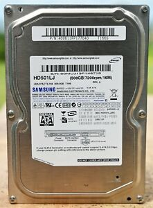Samsung F1 500GB Internal 7200 RPM 3.5'' HD501LJ Desktop HDD