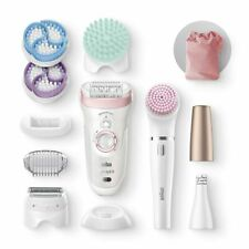 Braun SE9985 SILK-ÉPIL 9 FACESPA Rechargeable Epilator with Shaving Head