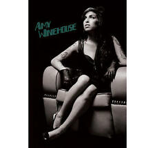 "AMY WINEHOUSE POSTER  ""BRAND NEW"" LICENSED ""SIZE 61cm X 91.5cm"" CHAIR"