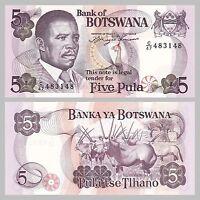 Botswana 5 Pula 1992 p11a unz.