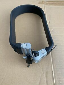 Litelok Silver Flexi-U Bicycle Lock 2 Keys