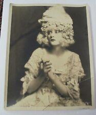 Vintage 1920s Ziegfeld Follies Edward Thayer Monroe Photograph of Mary Nolan (?)