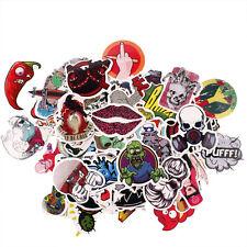 100 Pcs Stickers Skateboard Sticker Graffiti Laptop Luggage Car Decals Mix Lot