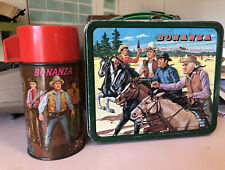 Bonanza Lunch Box and Thermos 1963 Vintage and Rare