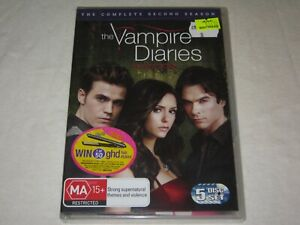 The Vampire Diaries - Complete Season 2 - 5 Disc Set - New & Sealed - R4 - DVD
