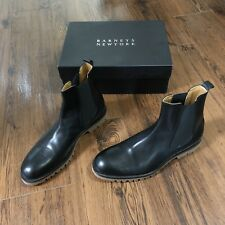 Barneys New York Leather Chelsea Boots MSRP $360