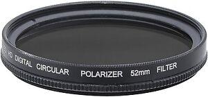 Pro HD Multi-Coated Digital Polarizer Filter for Pentax K-S1 K-3 K-3 II M2