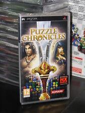 PUZZLE CHRONICLES GIOCO SONY PSP NUOVO ITALIANO