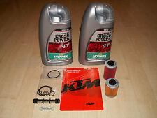 Orig. Ölfilterkit KTM EXC, SX, SMR 00-07+ 2 Liter Motorex Cross Power 10W50