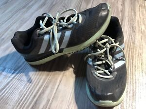 Adidas DURAMO 7 Trail Men Athletic Trail Running Shoes Sneakers Black Green 10