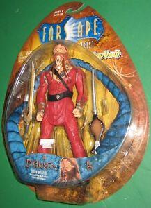 Farscape Ka D'Argo Action Figure MOC Sealed Toy Vault 2000