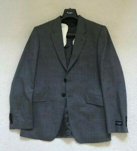Paul Smith London Grau 2 Knopf Jacke Blazer Größe 40/50 p2p 52.1cm