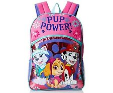 "Paw Patrol Girl's ""PUP POWER!"" 16 Inch Backpack Pink NWT"