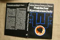 Fachbuch Korrosionsschutz Wasserrohre Wasseranlagen Armaturen Pumpen DDR 1985