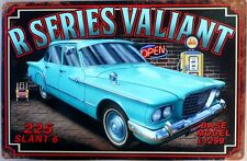 MUSCLE CAR GARAGE R SERIES VALIANT CLASSIC GOLDEN FLEECE GARAGE TIN SIGN   Sign