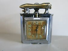 Vintage CHASE LIFT ARM LIGHTER AND ABRA SWISS WATCH-WORKS-RARE