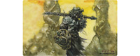 Dakkon Blackblade Playmat Richard Kane Ferguson MTG Art *Flipside Exclusive*