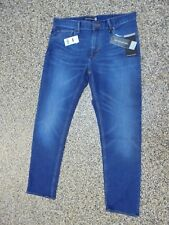 NWT Banana Republic Slim Fit Men's Rapid Movement Jeans Premium Dark 34 X 32