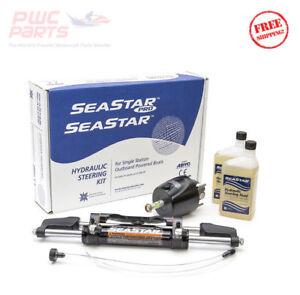 SeaStar HK6400A-3 1.7 Hydraulic Steering Kit without Hoses Yamaha Mercury Honda
