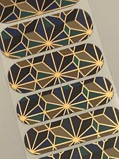 Jamberry GOTHIC ARCHITECTURE ACCENTS, 1/2 Sheet, Rare Collector's Wrap