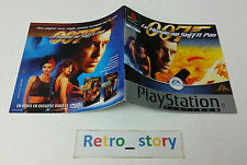 Sony Playstation PS1 007 Le Monde Ne Suffit Pas Notice / Instruction Manual