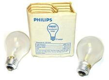 NEW PHILIPS 50A/RS BULBS  50 WATTS 120-130 VOLTS