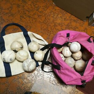Two Dozen (24) Slowpitch Softballs  used, as is