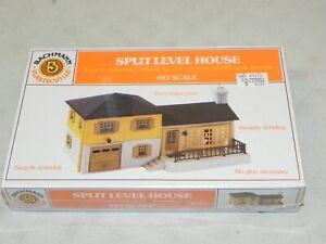 Bachmann HO Plasticville Split Level House Building Kit NIB Factory Sealed