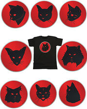 Mens Cat Organic Cotton T-Shirt Retro Thundercats Cartoon *Choose Your Breed*