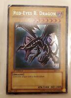 Yugioh Red-Eyes Black Dragon Ultra Rare 1st Edition SDJ-001