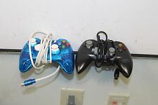 2xWired USB Game Pad Controller For Microsoft Xbox 360 PC Windows Untested