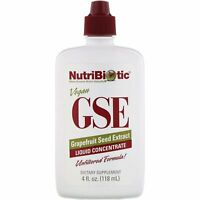 NutriBiotic, GSE, ( 2 Pack) Grapefruit Seed Extract, Liquid Concentrate, 4 fl oz