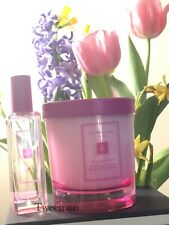 JO MALONE Limited Edition   Silk Blossom Cologne 30ml 1oz & Candle 200g Gift Set