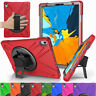 For Apple iPad Pro 11'' 2018 Rotating Shockproof Hybrid Rugged Strap Stand Case