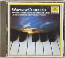 DGG 1986 CD W. GERMANY Warsaw Concerto RICHTER VASARY Virtuoso Piano 413 259-2