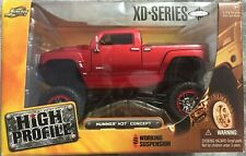 Jada Toys Dub City High Profile 1:24 Scale Hummer H3T Concept XD Series