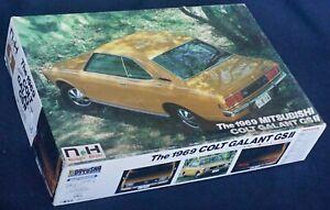 Vintage Doyusha 1969 Mitsubishi Colt Galant GSII - cat. NH-6 - Rare!