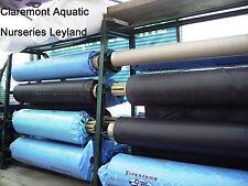 1mm thick Firestone EPDM Rubber pond liner per 2sq ft (85p per sq ft)