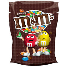 M&M's Choco Chocolate Candy Dragee with Sugar Coating 200g 7oz