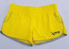 Volleyball AVP Crocs Short Shorts Size Small Yellow EUC YN