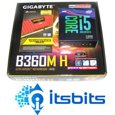 GIGABYTE B360m H Motherboard Intel I3-8100 Quad Core 3.6ghz 1151 8gb Ddr4