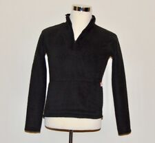 The North Face Fuzzy Fleece Soft Black Pullover Jacket Women's Petite SMALL