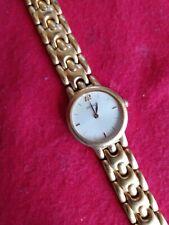 Seiko V700-6389 Ladies Goldtone Quartz Watch, Very Good Cond.New Battery.   D22
