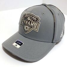 FC Houston Dynamo Hat Hat Cap Authentic adidas Flex Fit Grey Camo Small / Medium